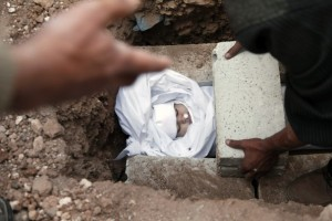 Iranian Infant Dies from Bombings