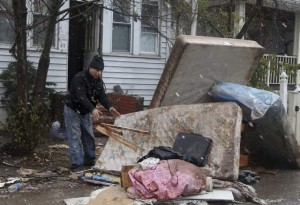 Cold Hits as Sandy's Victims contine in Recovery Process