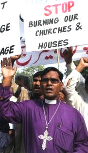 pakistan-christian-protesters