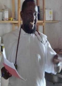 Ahmed Ali Jimale taught medicine and first aid in Kismayo, Somalia.